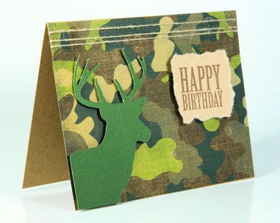 Buck silhouette camouflage birthday greeting card by designsbycnc buck silhouette camouflage birthday greeting card by designsbycnc 600 cards for all occasions pinterest birthday greeting cards birthday greetings bookmarktalkfo Image collections
