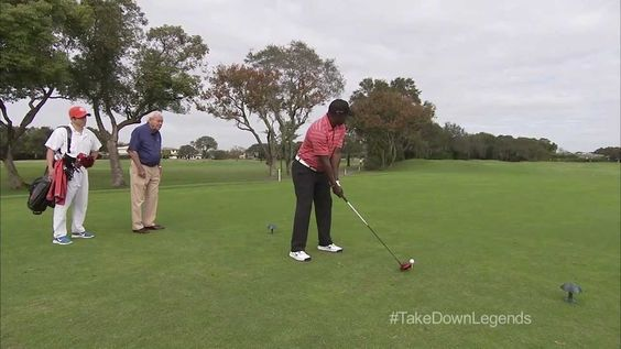awesome Arnold Palmer Is Not Impressed With Marshall Faulk - Tiger Woods Golf 14