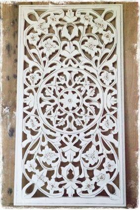 ... hout wit wanddecoratie - janenjuup - Wanddecoratie  Pinterest