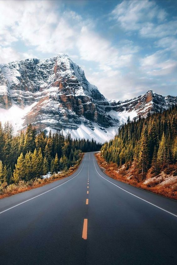 45 Free Beautiful Mountain Wallpapers For Iphone You Need See In 2021 Landscape Landscape Photos Nature Photography Beautiful road hd wallpaper
