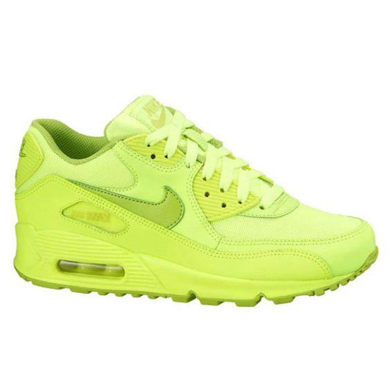 NIKE AIR MAX 90 GS VOLT/FIERCE GREEN - Womens ShoesNIKE RUNNINGAIR MAX 90 -