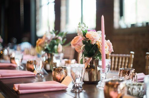 Pittsburgh Opera House Summer City Wedding Wedding Party Table Event Table Sweetheart Table Rental