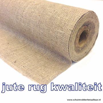 jute doek rug kwaliteit 140 cm breed 4,30 p m