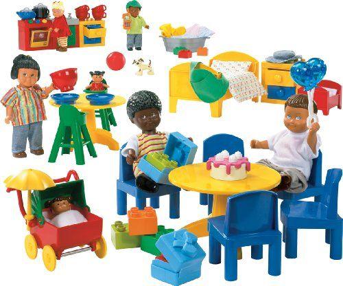 LEGO Education DUPLO Figures Family Set 779215 (87 Pieces)   Gotta ...