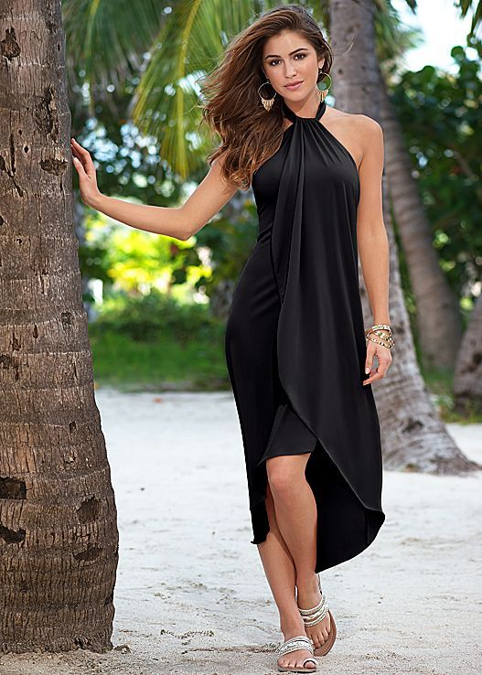 long black dress xs energy