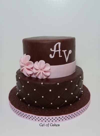 Simple and elegant By celofcakes on CakeCentral.com
