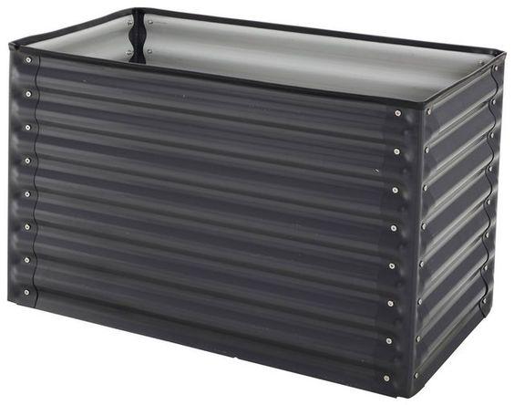Hochbeet Bxtxh 100x65x60 Cm Hochbeet Verzinkter Stahl Und Stahl