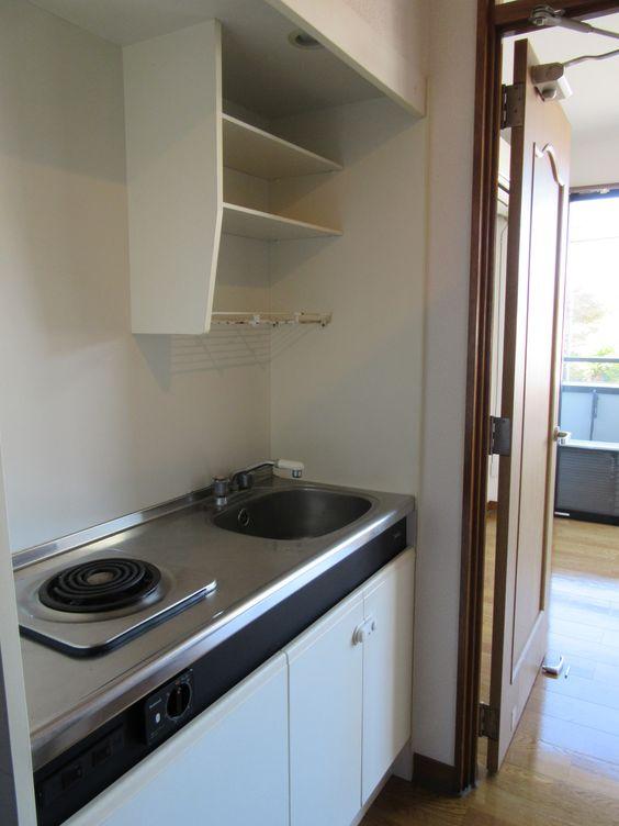 キッチン|賃貸 1K メゾンド・フルール byのぐち不動産