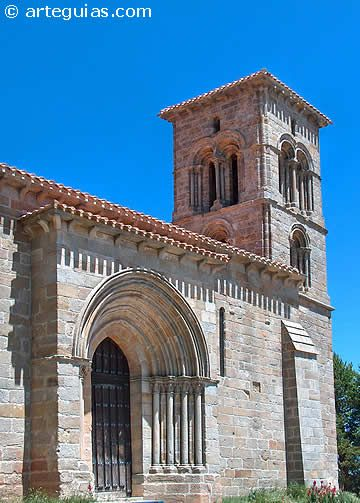 Ermita románica de Santa Cecilia. Aguilar de Campoo