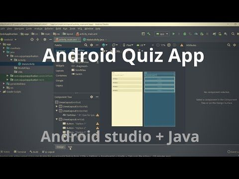 Android App Project Simple Quiz App Android Studio Java