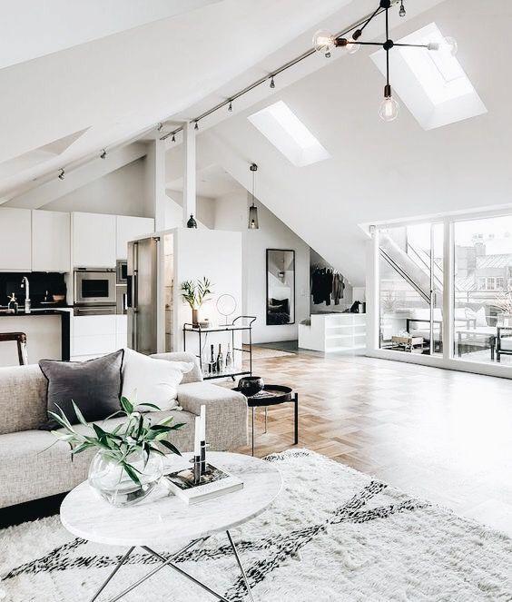 Modern Industrial Interior Design Definition Home Decor Loft Living Space Loft Design Loft Living