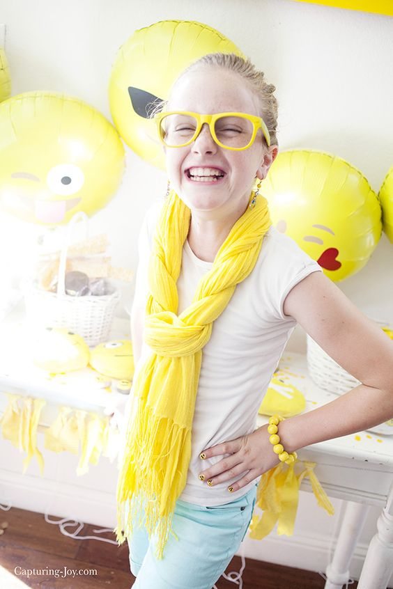 Emoji Birthday Party - Capturing Joy with Kristen Duke:
