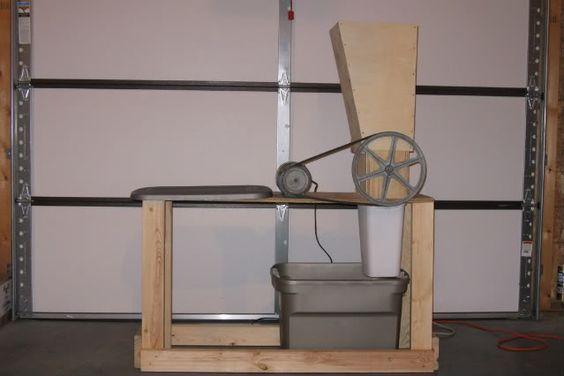 how to make an apple grinder for cider