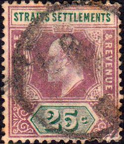 Straits Settlements 1902 King Edward VII  SG 116 Good Used  SG 116 Good 99