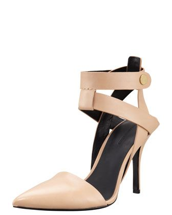 Sonja Ankle-Wrap Pump by Alexander Wang