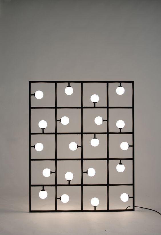Atelier Areti   Squares Floor/Wall Lamp