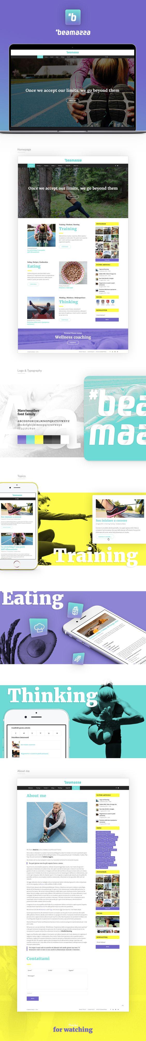 """http://www.beatricemazza.it/#beamazza è un progetto costruito """"su misura"""" insieme all'autrice, dalla grafica e stile di layout, alla cura degli articoli. La gestione dei contenuti è stata organizzata per permettere la massima autonomia e flessibilità in…"""