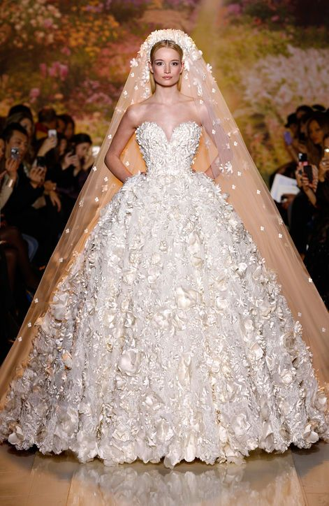 Spring 2015 Wedding Dresses--Spring Summer Wedding Dress Trends: Glamour.com: