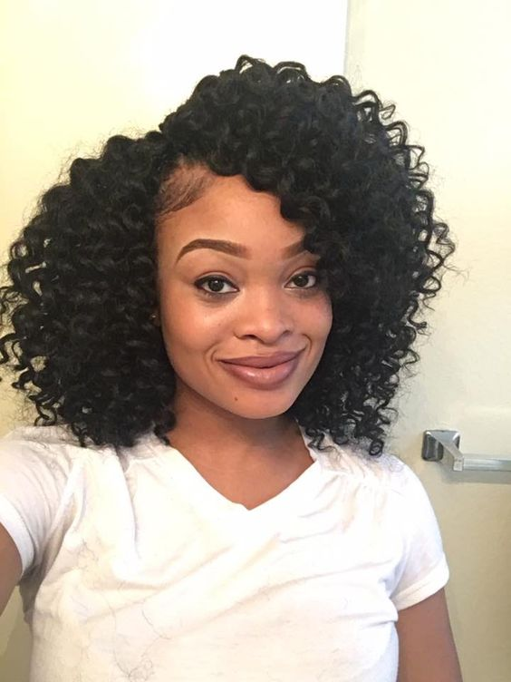 Precurled Crochet Braids | Freetress Ringlet Wand Curl - YouTube