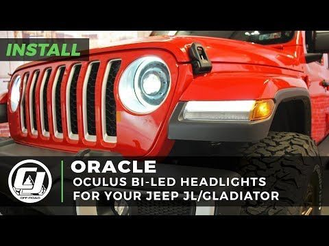 Oracle Lighting Headlight Oculus Bi Led System Jeep Wrangler Jl 2018 2020 Gladiator 2020 With Images Jeep Wrangler Jeep Jeep Wrangler Headlights