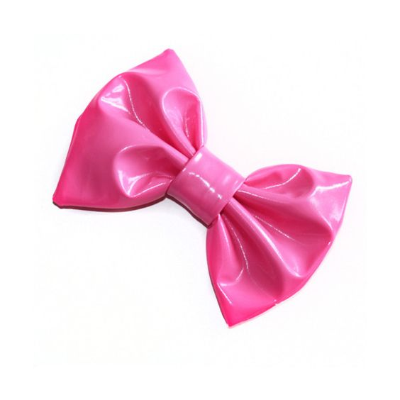 Pink Bow ❤ liked on Polyvore