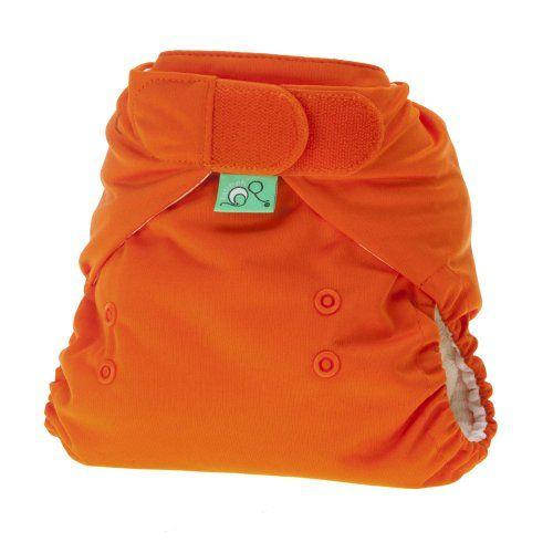 Tots Bots Pumpkin - Cobertor de pañal elástico (talla de 3,5 a 16 kg)