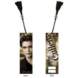 Twilight Saga New Moon Edward Cullen Bookmark with Tassel