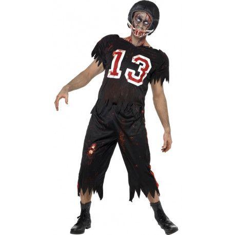 Disfraz De Jugador De Rugby Zombie Para Adulto Comprar Halloween Disfraces Disfraz De Jugador De Fútbol Americano Disfraces De Halloween Para Hombres