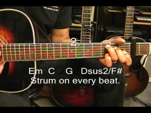 how to play in the name of jesus on guitar
