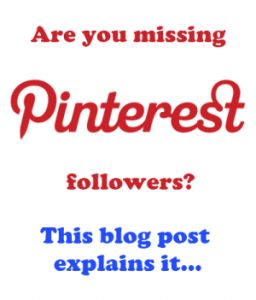 """Why you might have lost Pinterest followers."" Interesting developments at Pinterest. S"