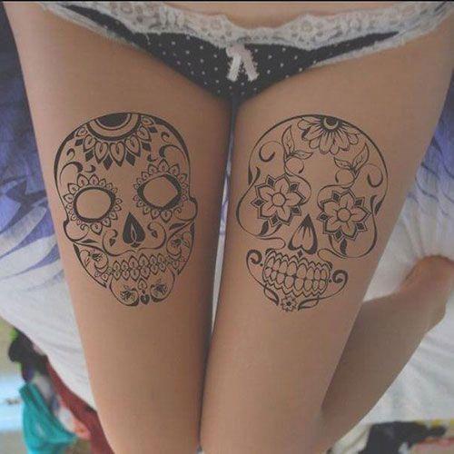 Upper Thigh Tattoo Ideas Best Thigh Tattoos For Women Cute Leg Tattoos On Upper Side And Back Thigh Upper Thigh Tattoos Thigh Tattoo Thigh Tattoos Women