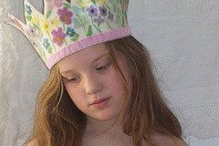 Every birthday princess should have her own special handmade crown.