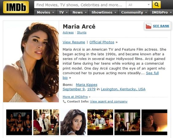 Tv + Film #Actress u003d #IMDB resume Entrepreneurship Pinterest - actress sample resumes