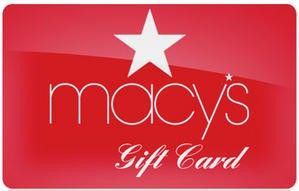 The Giveaway Center - $100 Macy's Gift Card  Sweepstakes Prize  Enter to Win  $100 Macy's Gift Card  ARV: $100.00 Winners: 1Open to:  U.S.A  Canada  18 Expires: Friday Sep. 30 2016 Entry: 10x daily Type: giveaway widget
