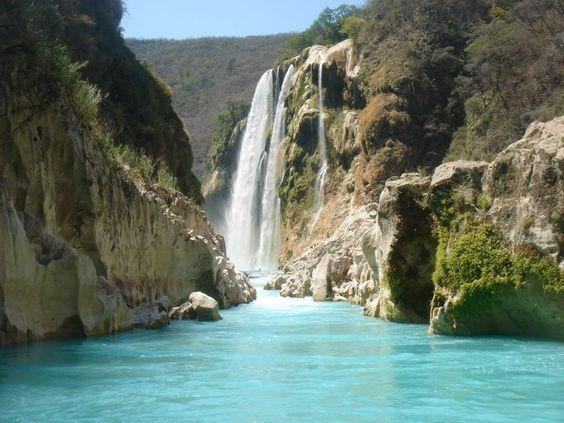 Cascada de Tamul, SLP, México