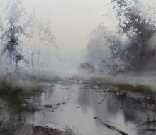 Ibryaev Ilya -  watercolours Russian artist