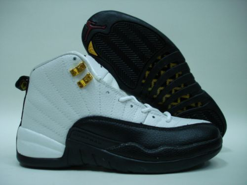 Mens Air Jordan Retro 12 White Blue shoes
