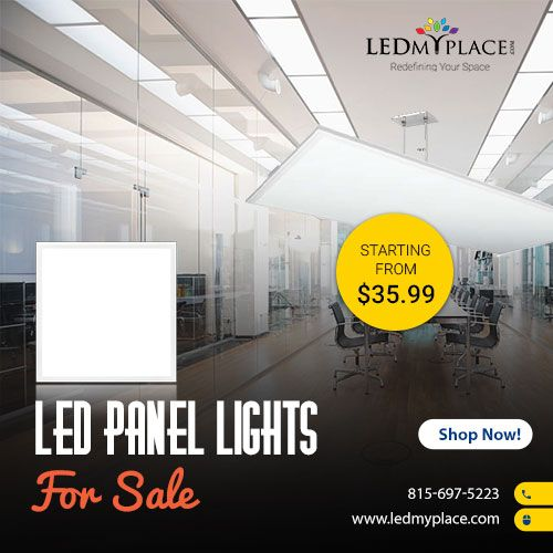 Led Panel Light Is Important For Commercial Spaces Because It Gives The Best Quality Of Light Such As Color Tempe Led Panel Led Office Lighting Led Panel Light