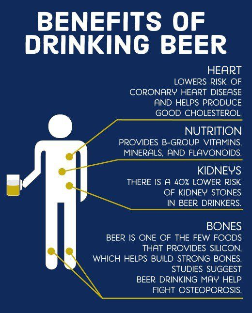 Benefits Of Drinking Beer