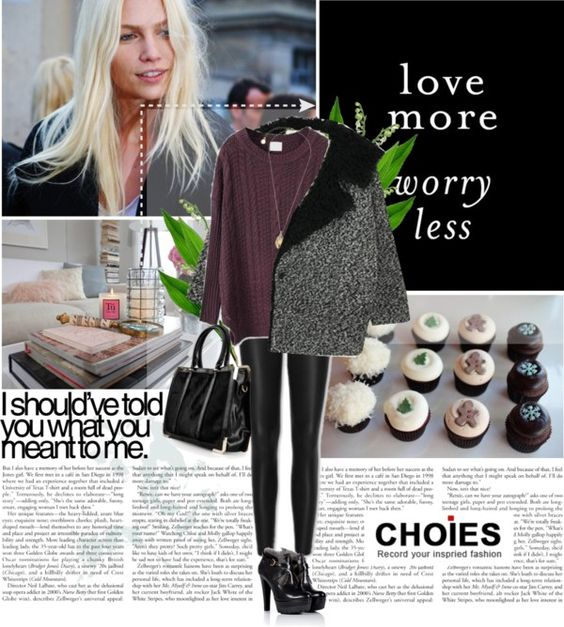 """""""Love more. Worry less."""" by venia92 ❤ liked on Polyvore"""