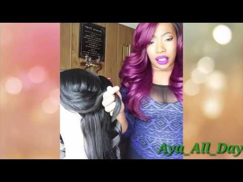 How To Curl A Synthetic Wig Youtube Synthetic Wigs Wigs Synthetic Hair