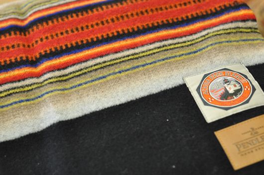 This is the Acadia blanket from the National Parks series.