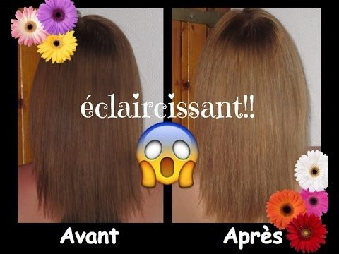tutorial claircissant naturel pour cheveux high light youtube - Eclaircissant Cheveux Colors