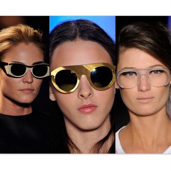 Óculos extravagantes!