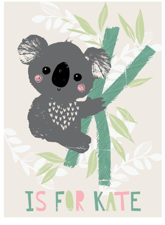 Koala Art And Design : Ideas about koala illustration on pinterest