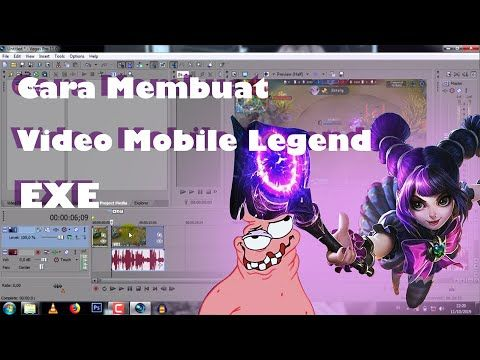 Cara Membuat Video Mobile Legend Exe Tutorial Lengkap Step By Step Youtube Meme Photoshop Youtube