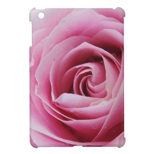 Pink Rose iPad mini cover