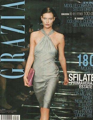 Grazia Collections 1998 Miu Miu Prada Chanel Jil Sander Alexander McQueen 90s