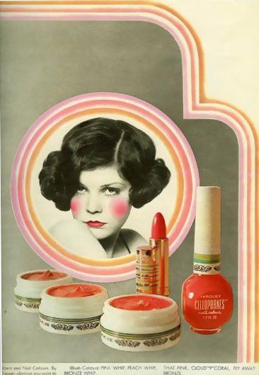 Cellophanes cosmetics advertisement, 1969
