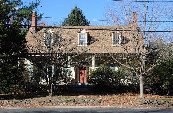 Harmon Van Dien House in Bergen County, New Jersey.